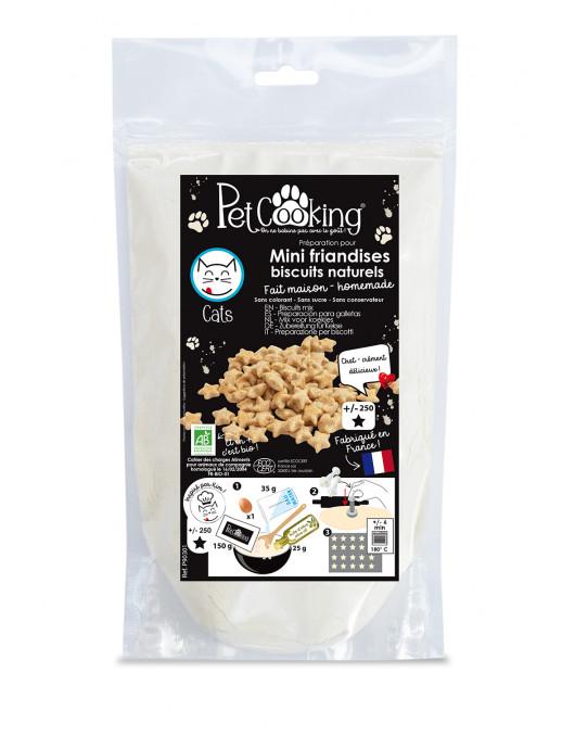 Préparation pour mini-friandises biscuits naturels  réf.P90301