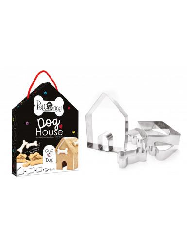 Dog house 5 découpoirs niche réf.P90041