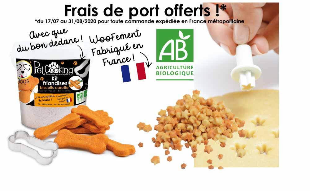 Frais de port OFFERTS en France